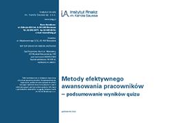 Metody efektywnego awansowania pracowników (kierownik projektu)